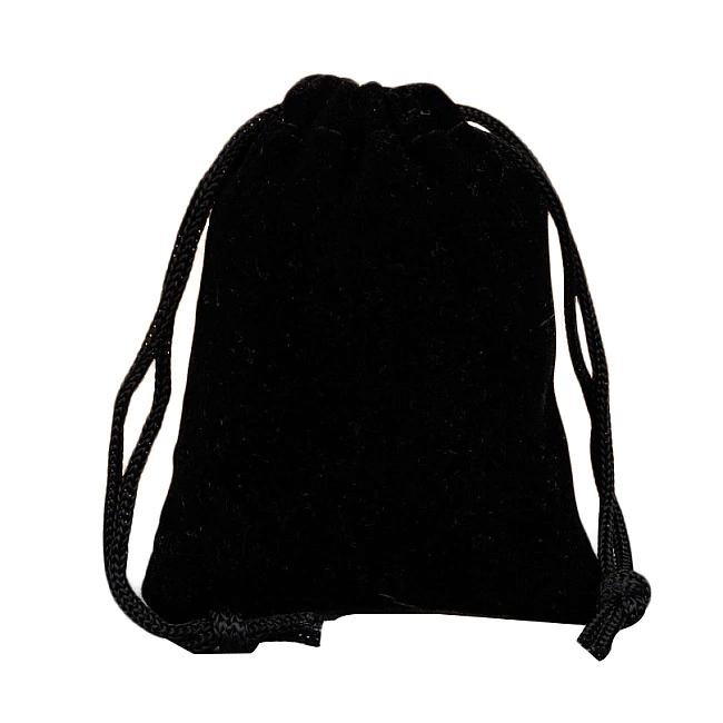 Vrecko na menštruačný kalíšok (čierne)